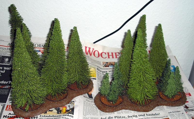 Waldbases selber bauen