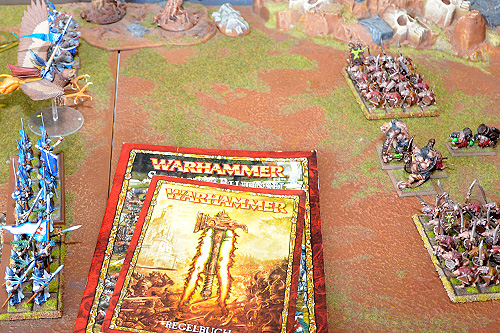 Warhammer Fantasy Testspielplatte