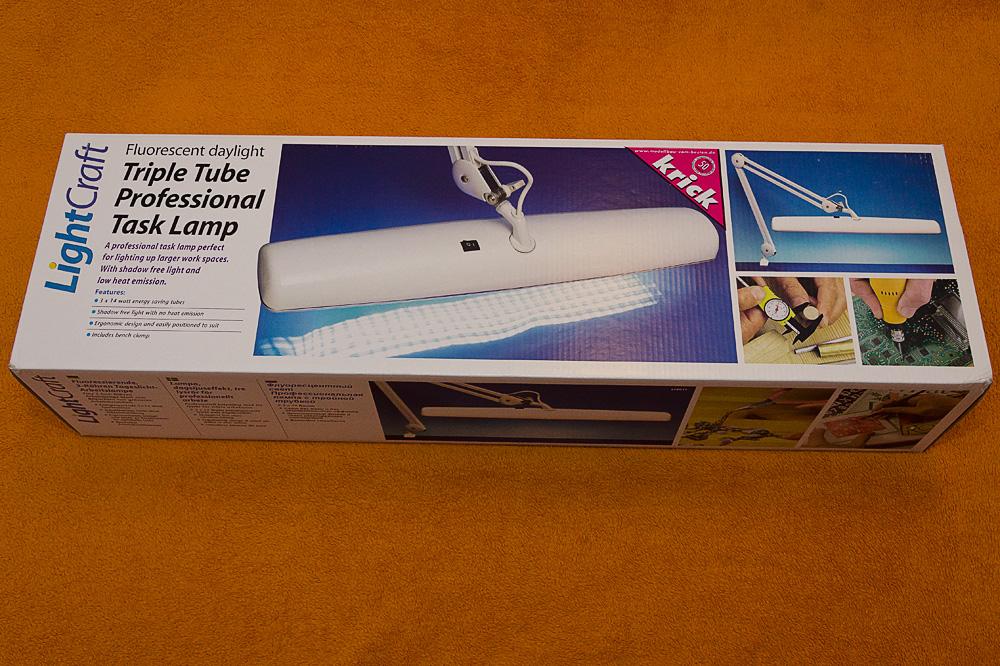 Tri Tube Tageslicht-Arbeitsplatzlampe