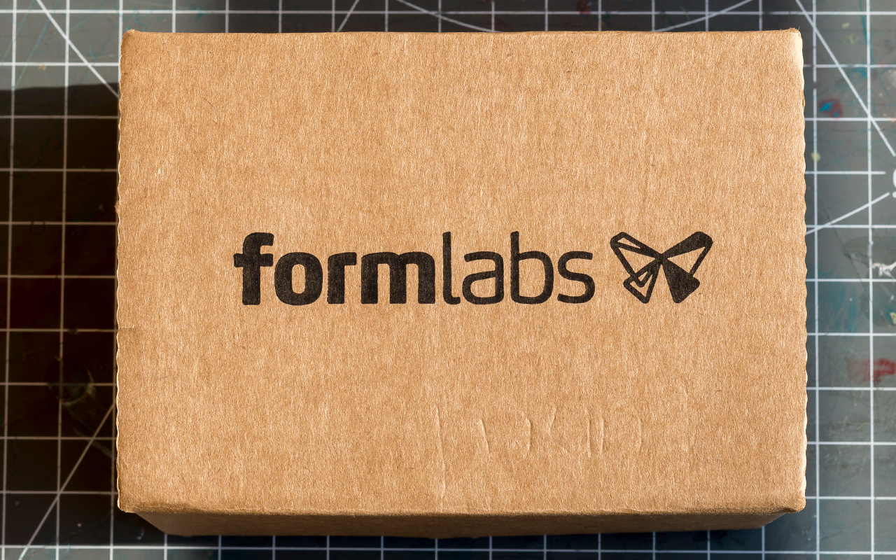Form1+ Formlaps Print Sample