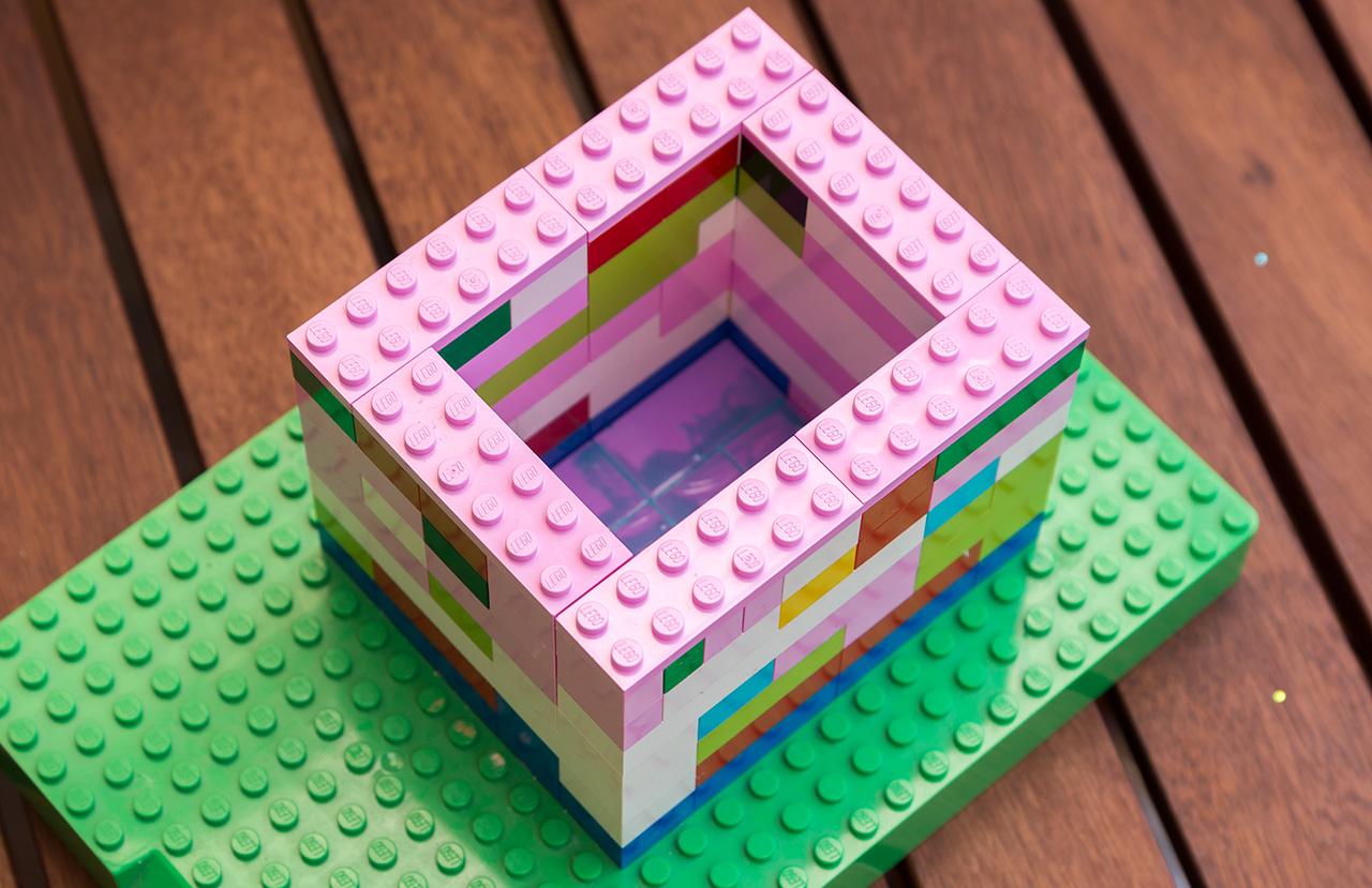 Formbau mit Lego