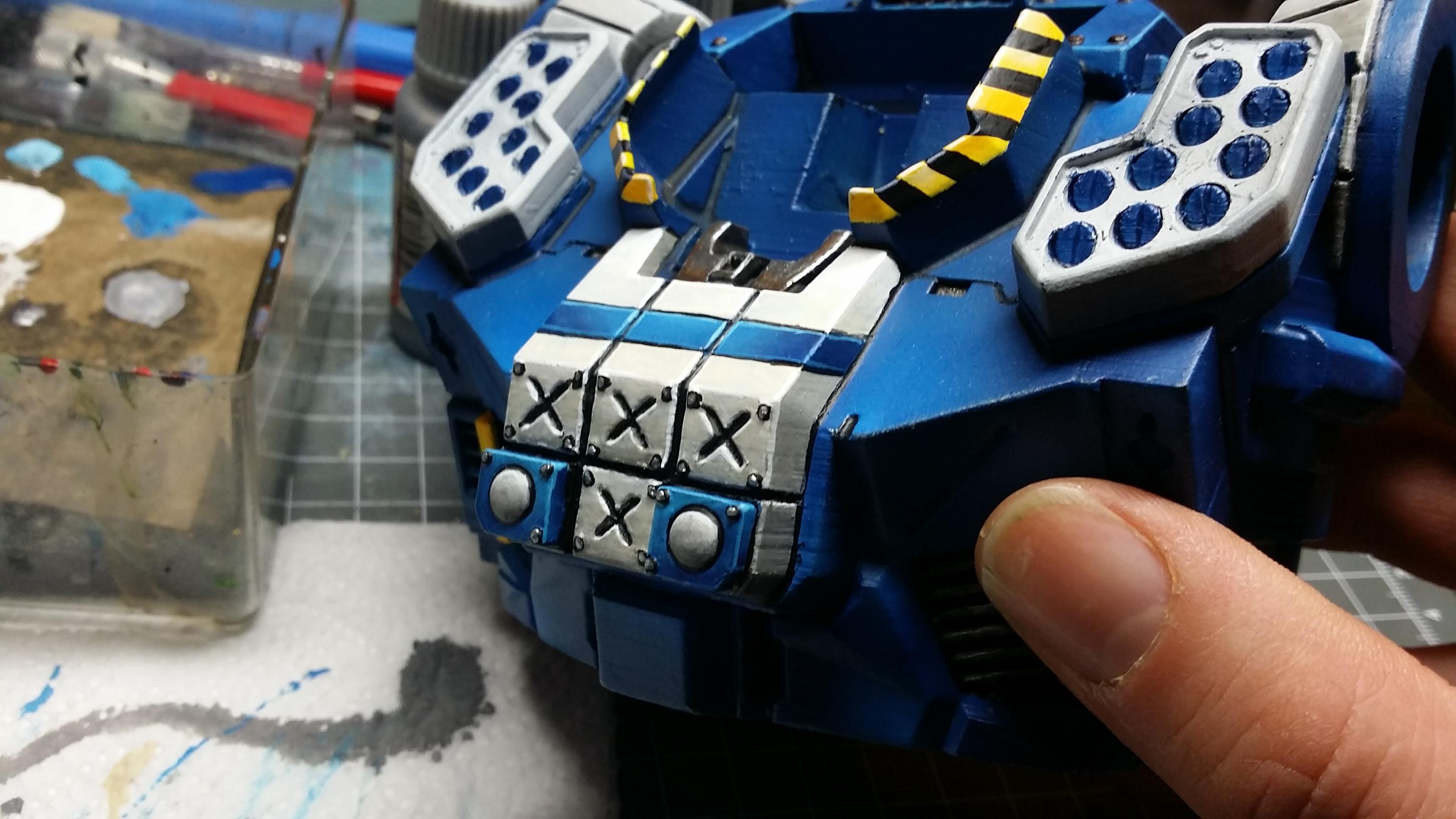 Atlas Battlemech Torso Details